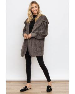 Hooded Bear Coat