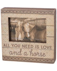 Box Frame - And A Horse
