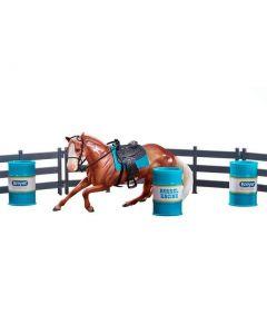 Breyer #62201 Barrel Racing Set