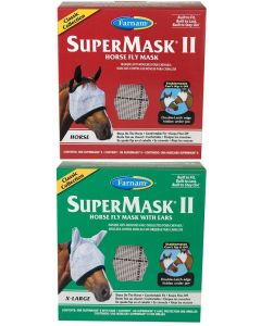 SuperMask® II Horse Fly Mask Classic Collection