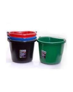 FortiFlex Flat Back Bucket 24 Quart / 6 Gallon