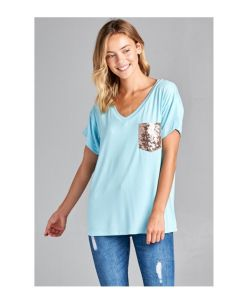 Sparkle Pocket Tee Shirt