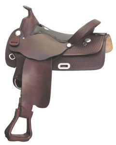 Rusty Taylor Simco-Longhorn Gaited Sarasota Special Trail Western Saddle