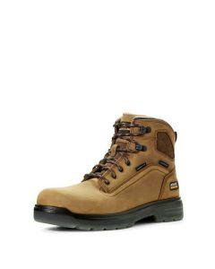 "Ariat® Men's Turbo 6"" Waterproof Carbon Toe Work Boot"
